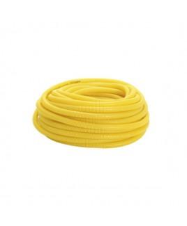 Eletroduto Corrugado 1 Pol Amarelo 25M Amanco