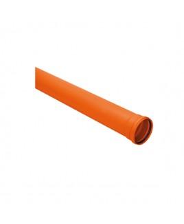 Tubo de PVC Silentium 40mm / 6 MTS Amanco