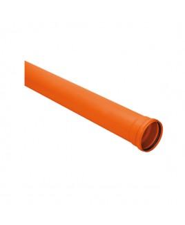 Tubo de PVC Silentium 75mm / 6 MTS Amanco