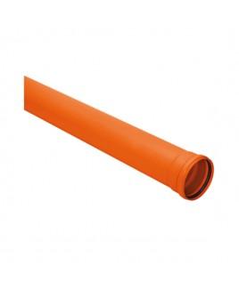 Tubo de PVC Silentium 100mm / 6 MTS Amanco