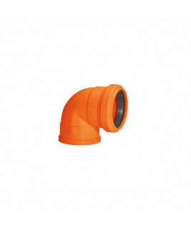 Joelho 40mm 90º anel labial Silentium Amanco