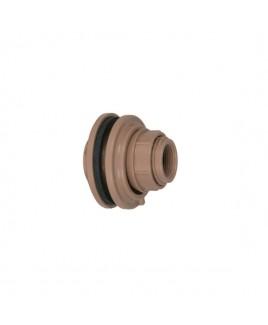 Adaptador Flange c/anel 40mm1 1/4 Marrom Soldável Amanco