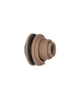 Adaptador Flange c/anel 50mm1 1/2 Marrom Soldável Amanco