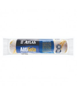 Rolo de Lã AntiGota 23cm para Parede e Teto Atlas