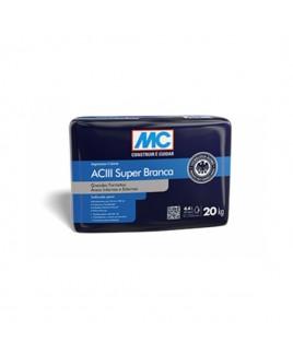 Argamassa Colante Multiuso Super ACIII Branca 20kg Argatex