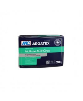 Argamassa Colante Multiuso ACIII Cinza 20kg Argatex