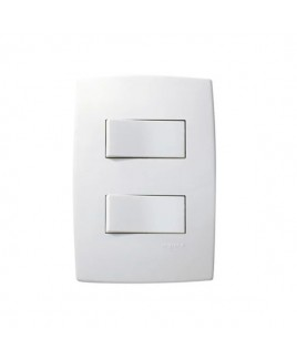 Conjunto Interruptor Duplo Simples/Paralelo 10A Pial Plus Pial Legrand