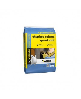 Chapisco Colante Cinza 20kg Quartzolit