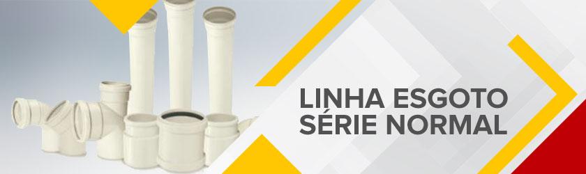 hidraulica tubo conexão linha esgoto serie normal