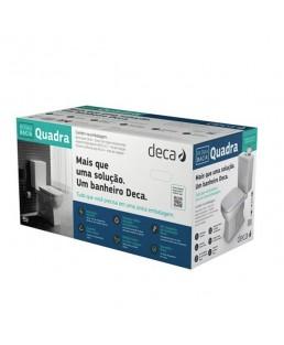 Kit completo Bacia com caixa acoplada Quadra Deca KP.210.17