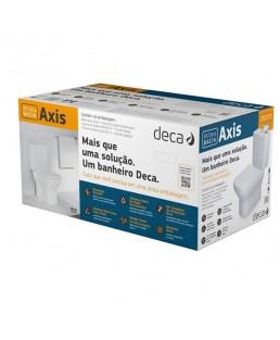 Kit completo Bacia com caixa acoplada Axis Deca KP.470.17