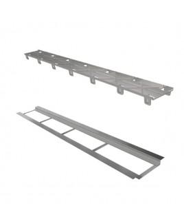 Ralo Linear Elleve Infinity Tampa Oculta C/ Base Inox 160 Cm - 259