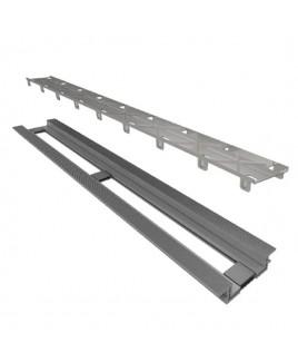 Ralo Linear Elleve Infinity Tampa Oculta C/ Base PVC 130 Cm - 469