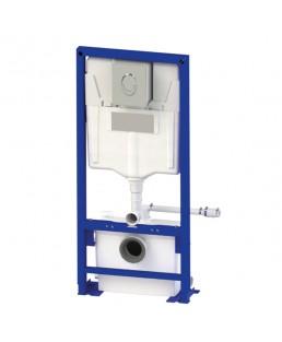 SFA SANIWALL Bomba Trituradora com suporte para instalação vaso suspenso drywall - 220V - WALLPROUPDBR