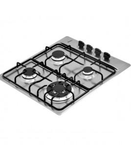 Cooktop Tramontina Inox 4 bocas Square 4GX TRI 60 94701/201