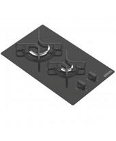 Cooktop Vidro Tramontina Gas Glass Domino 2 bocas 2GGTRI30 94702/201