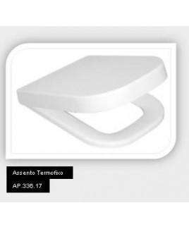 Assento Termofixo Slow Close e Easy Clean Quadra/Piano Deca AP.336.17