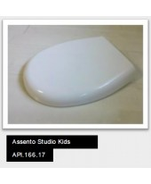 Assento Infantil Studio Kids(polipropileno)Slow Close Deca API.166.17