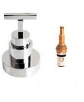 Acabamento de pressão (chuveiro)  1/2 ,3/4 e 1 polegada Stick Deca 4916.C84.PQ