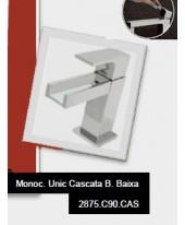 Misturador Monocomando Lavatório Bica Baixa Cascata Unic Deca 2875.C90.CAS
