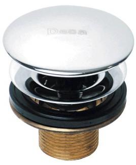 Válvula  Clik de escoamento para lavatório e cubas Deca 1601.C.CLI