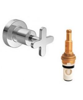 Acabamento de pressão (chuveiro)  1/2 ,3/4 e 1 polegada Disco Deca 4916.C.DSC.PQ