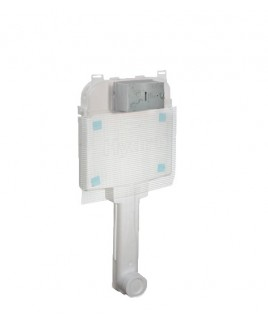 Caixa de Descarga Embutida Pneumatica Alvenaria/Drywall Bacia Piso Deca 2500.CX.PN.AF