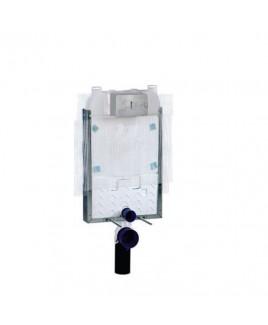 Caixa de Descarga Embutida Pneumatica Alvenaria Bacia Suspensa Deca 2501.CX.PN.AF