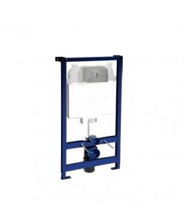 Caixa de Descarga Embutida Pneumatica DryWall Bacia Suspensa Deca 2502.CX.PN.AF
