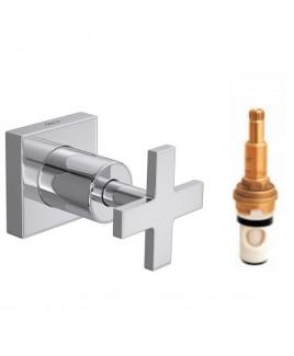 Acabamento de pressão(chuveiro)ate 1pol Clean Deca 4916.C.CLN.PQ