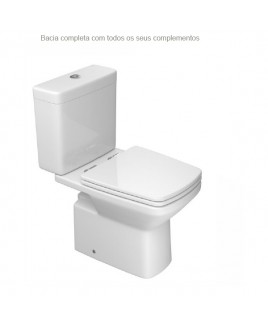 Bacia Com Caixa Acoplada Clean P.460.17+CD.01F.17