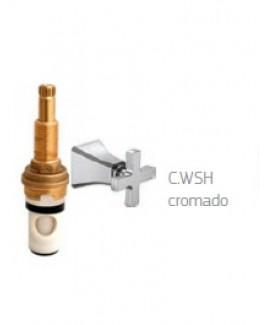Acabamento de pressão (chuveiro) 1/2 ,3/4 e 1 polegada wish Deca 4916.C.WSH.PQ